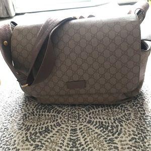 e0c9413d1de Gucci Bags - Gucci Diaper Bag - no changing pad .